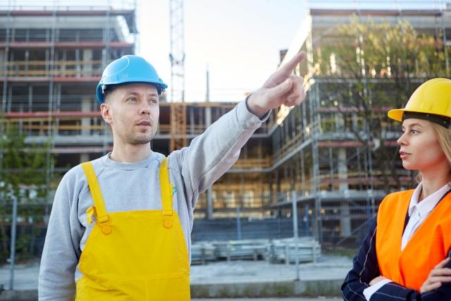 建設工事現場
