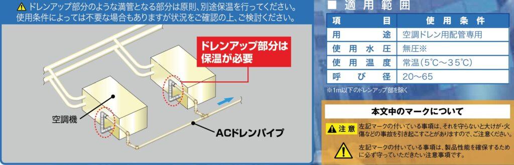 引用画像 エスロンACドレンパイプ・継手カタログ